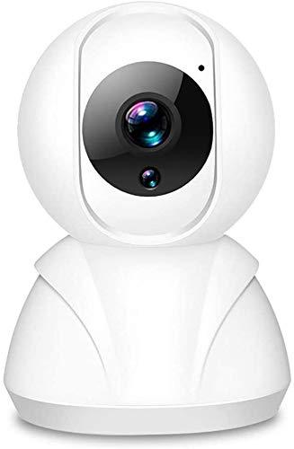 Hancoc Webcam BUENA Cámara De Interior Seguridad Wi-Fi, Cámara De La Cámara HD Smart Home Vigilancia Con Detección De Humanos, Seguimiento Inteligente, Detección Inteligente De Sonido, Audio De Dos Ví