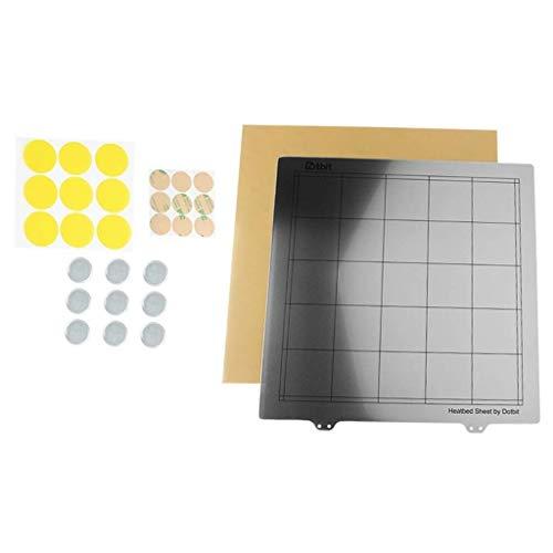 GzxLaY 3D Printer Heated Bed Sheet PEI Heated Bed Platform for 3D Printer 300x300mm