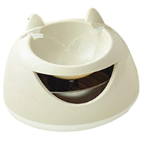 HAOSHUAI Automatische Licht Haustier Wasserbrunnen for Katzen Brunnen Hunde USB Elektrische Wasserspender Tränken A mit Nachtlicht