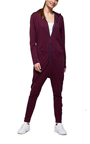 OnePiece Damen UNO Jumpsuit, Violett (Burgundy), 40 (Herstellergröße: L) - 3