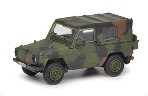 Schuco 452642700 Wolf G Bundeswehr, Modellauto, Military, 1:87, Camouflage