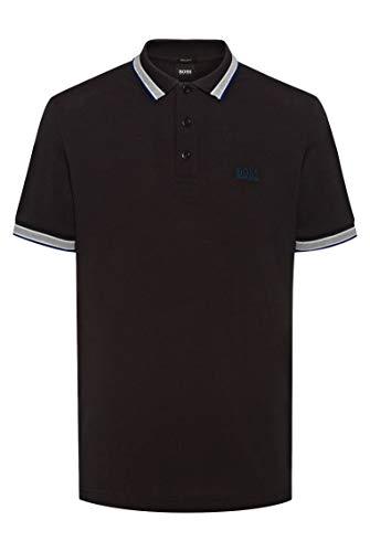 BOSS Herren Paddy Poloshirt aus Baumwoll-Piqué mit Logo an der Kragenunterseite