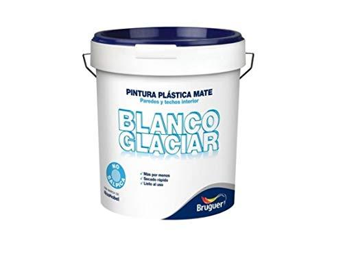 Akzo Nobel Coatings 5208048 - Pintura plast mate 15 lt bl int. glaciar bruguer