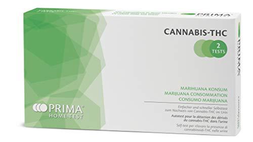 PRIMA Home Test - Test Antidroga Cannabis THC (Urine) - 50 ng/mL - 2 Test