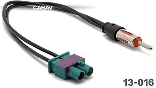 Carav 13-016 Radio de Voiture Double FAKRA sur DIN Adaptateur d'antenne