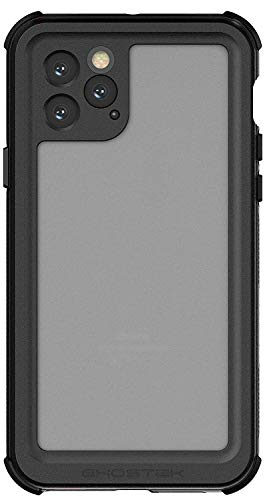 Ghostek Nautical Waterproof iPhone 11 Pro Case with Screen Protector Super Tough Heavy Duty Protection Shockproof Full Body Shell Underwater Watertight Seal - 2019 iPhone 11 Pro (5.8 Inch) - (Black)