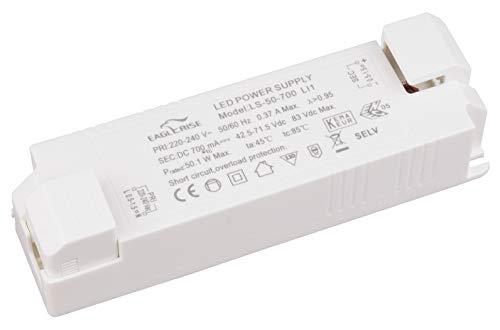 HuaTec Eaglerise Flackerfrei LED Trafo 30W - 50W 700mA LED Netzteil Driver Treiber Transformator Flickerfree Konstantstrom
