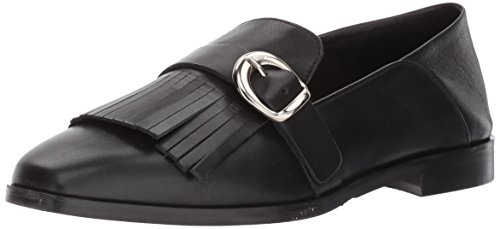 CHARLES DAVID womens Dame Oxford Flat, Black, 6.5 Narrow US