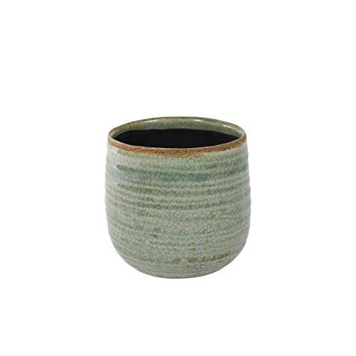 Céramique TS d'intérieur Blumentopf Iris d12,5 cm couleur Durchmesser 12cm menthe