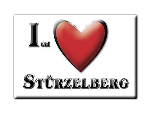 Enjoymagnets STÜRZELBERG (NW) Souvenir Deutschland Nordrhein Westfalen Fridge Magnet KÜHLSCHRANK Magnet ICH Liebe I Love