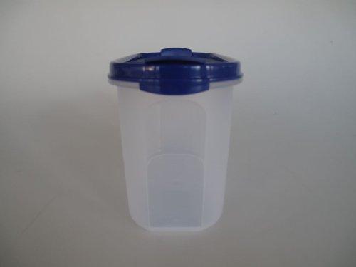 TUPPERWARE Eidgenosse 1,1 L blau mit Schütte Vorratsdose A62 Vorrat Dose Modular 9544