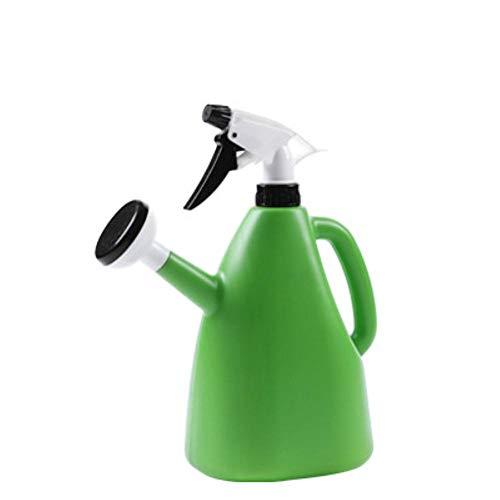 Piero Kleine gieter Waterkoker Spray Plastic Kamerplant Waterkan Duurzaam Tuinieren BloemGieter Sprinkler Tuingereedschap, Groen