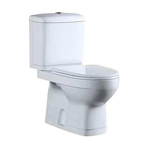 Vaso Sanitário com Caixa Acoplada e Fechamento Suave Toilet Adamas Branco