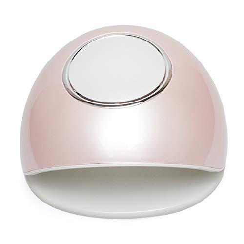 Lampes UV Multifonctionnel Sèche-Ongles Induction Calendrier Écran D'affichage Lampe De Photothérapie UV LED 2 En 1 Double Source De Lumière Ongles Outil 220v,Pink