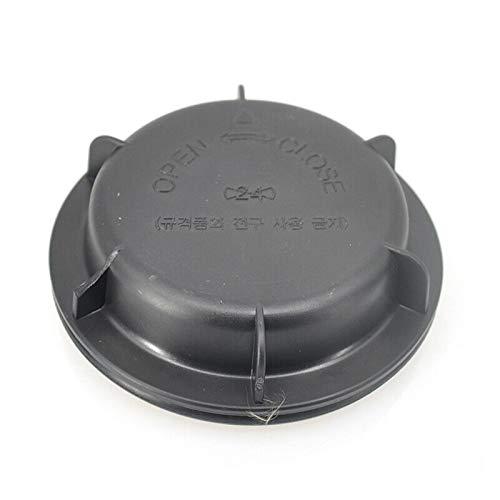 N\A Scheinwerferglas, Kopfbeleuchtung Staubkappe Abdeckung Staub (Farbe : Black)