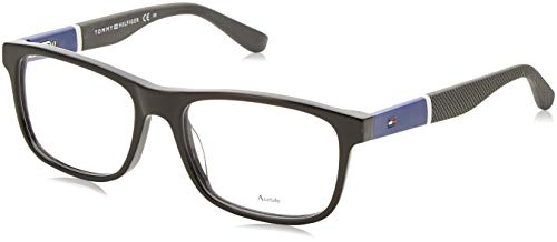 Tommy Hilfiger 1282 Eyeglasses 0FMV Black Blue 52 mm