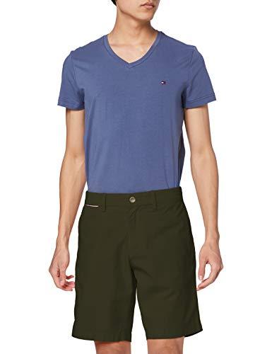 Tommy Hilfiger Herren Brooklyn Light Twill Shorts, Armee-grün, 29W