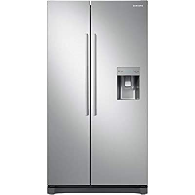 Samsung Freestanding American Fridge Freezer with Digital Inverter Technology, Water Dispenser, 520L, 91cm wide