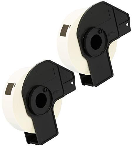 Cartridges Kingdom kompatibel für BROTHER DK11203 DK-11203 (17mm x 87mm) Ordner-Register-Etiketten | 300 Stück/Rolle | 2-er PACK
