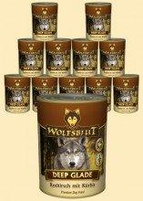 Warnicks Tierfutterservice Wolfsblut Dose Deep Glade | 6 x 395g Hundefutter mit Rothirschfleisch