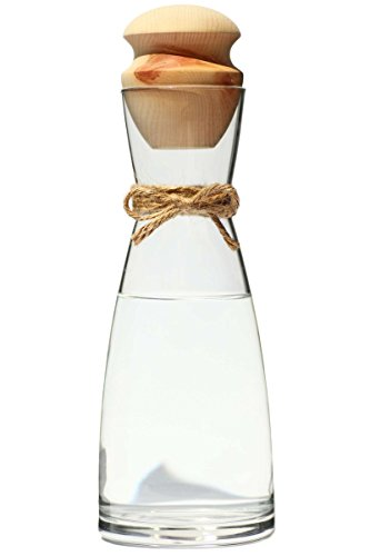 Ursprung Buam Wasserkaraffe 1L Ypsilon inkl. Zirben Zapfen - Zirbenwasser mit wohltuenden Eigenschaften