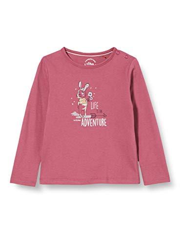 s.Oliver Junior Baby-Mädchen 405.10.010.12.130.2058520 T-Shirt, 4594, 86