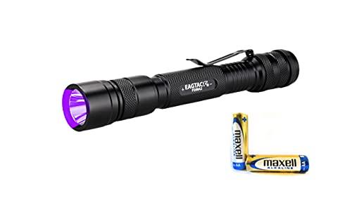 Linterna EagleTac P200A2 UV 365 nm profesional AA