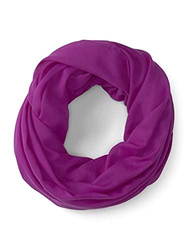 TOM TAILOR Damen 1025073 Loop Schal, 26530-Plum Blossom Lilac, OneSize