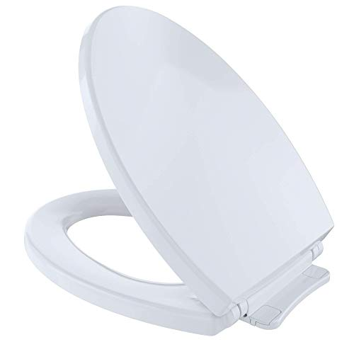 Toto SS114#01 Transitional SoftClose Toilet Seat, Elongated, Cotton White