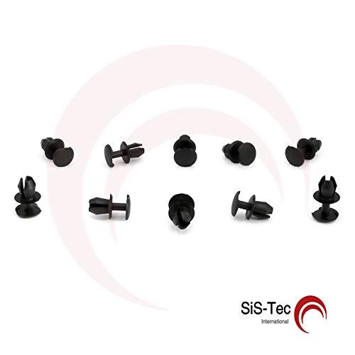 Kim Kranholdt GmbH 3338676334FB - Clip di fissaggio per rivestimento bagagliaio, 10 pezzi