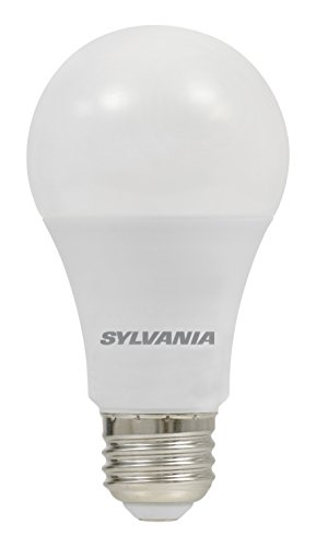 LEDVANCE 74426 Sylvania Ultra 75W Equivalent, A19 LED Light Bulb, Dimmable, Efficient 12W, Bright White 3500K