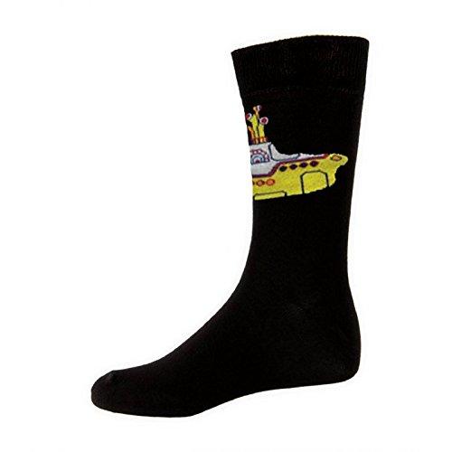 The Beatles Yellow Submarine offiziell damen Nue Schwarz Socken (UK Size 4-7)