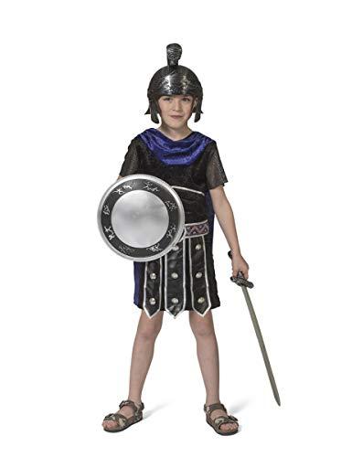 Generique - Disfraz Tnica Guerrero Romano para Nio - 6 - 8 aos (116 cm)