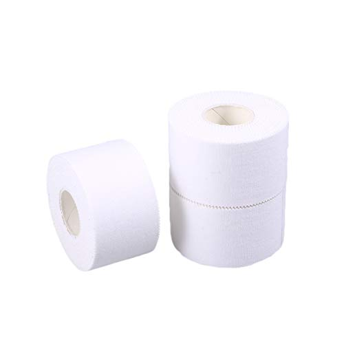 SUPVOX 3pcs Sport Athletic Tape Medizinische Bandage Vliesband Conforming Verband Erste Hilfe Wundversorgung Verband age 3,8 cm x 10 m)