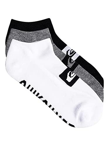 Quiksilver Herren Anckle Pack Socks Füßlinge, Mehrfarbig (Assorted AST), One Size (Herstellergröße: Única) (3er