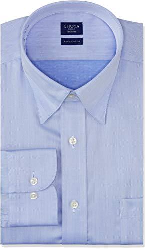 [チョーヤ] CHOYA SHIRT FACTORY 長袖メンズワイシャツ アポロコット CFD825 455-スナップダウン 日本 3778 (日本サイズS相当)