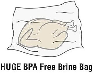 Heavy Duty BPA Free Brine Bag Made in USA, Thanksgiving Turkey (2 Pack 24