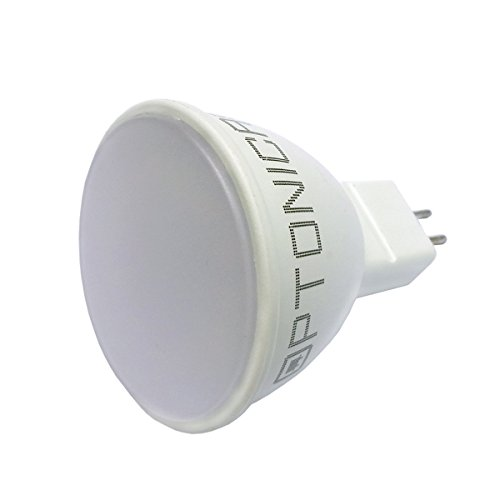 Foco 12 V MR16 GU5.3 LED 7 W luz blanca blanca 6000 K ANG 110 ° OPTIONICA SP1194