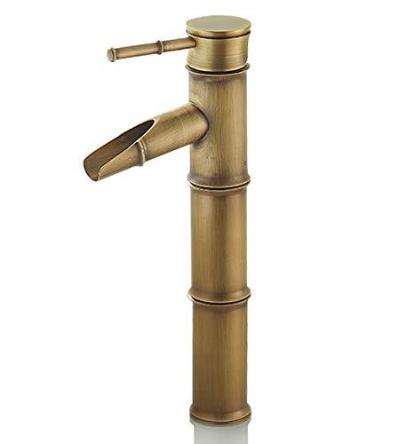 Solepearl Rubinetto bagno a cascata per Bagno o avabo Bagno,Rubinetto Bagno Lavabo per Miscelatore Lavabo Alto e Lavandino Bagno Rubinetto Miscelatore