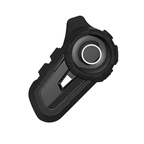 CeFoney Motocicleta Intercomunicador, Motocicleta Casco Sistemas de Comunicación Impermeable Casco Bluetooth Intercomunicador Reducción de Ruido Moto Auriculares Bluetooth