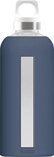 Sigg 8649.30_Bleu Gourde, Verre, 7,3 x 7,3 x 22,1 cm