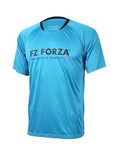FZ Forza - Sport T-Shirt Bling - blau, für Herren - geeignet für Fitness, Running, Fußball, Squash, Badminton, Tennis etc. - 3XL
