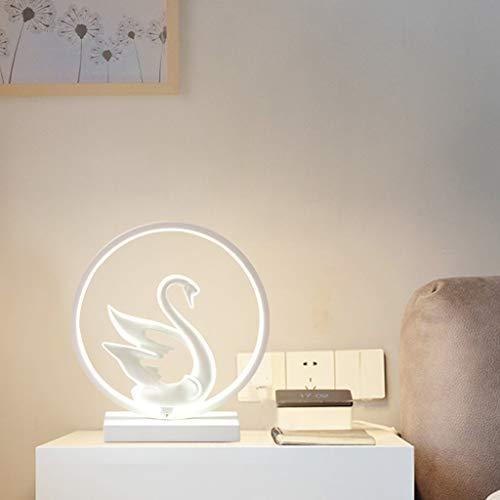 Xwyun modern LED warm lamp, creative home wedding room decoration, aluminum simple bedroom bed...