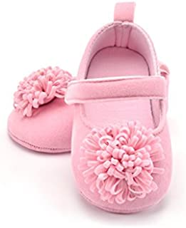 FemmeStopper Baby Girl Flower Born Infant Baby Girls Shoes First Walker Shoes