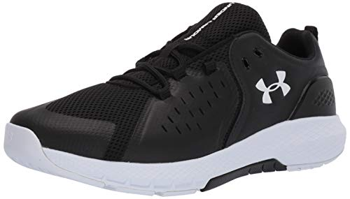 Under Armour Men's Charged Commit TR 2.0 Cross Trainer, Black (001)/White, 12