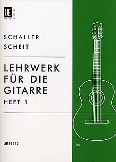 LEHRWERK FUER GITARRE 1 - arrangiert für Gitarre [Noten / Sheetmusic] Komponist: SCHALLER ERWIN + SCHEIT KARL