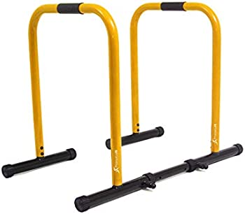ProsourceFit Dip Stand Station, Ultimate Heavy Duty Body Bar Press