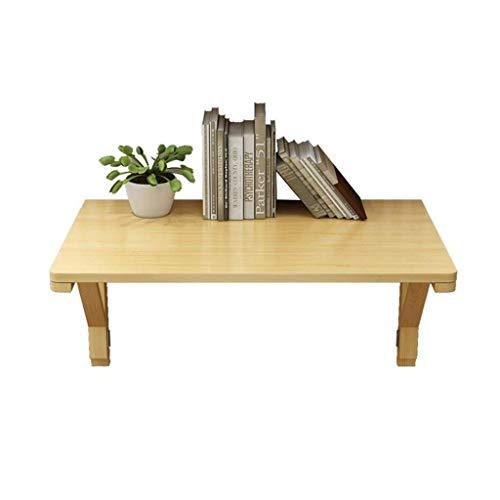Opklapbare tafel Tuintafels eettafel Wandbureau Opklapbare wandtafel, eenvoudig tafel voor laptop in massief hout (Afmetingen: 60x40cm)