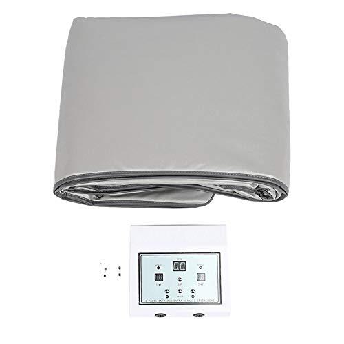 Infrarood sauna deken, waterdicht materiaal sauna verwarmingstoestel met onafhankelijke, twee-temperatuurzone, geschikt voor schoonheidssalons, vrijetijdsclubs, hoofdgebruik #2