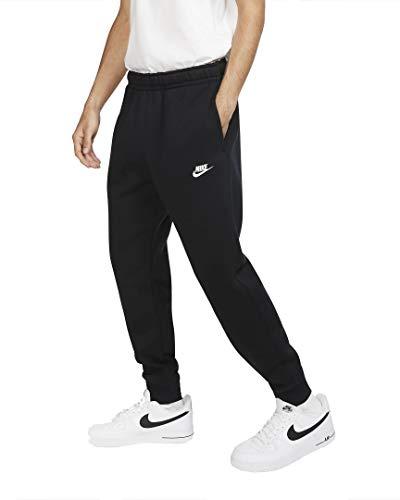 Nike Club Jogger - Pantalón deportivo blanco/negro XL